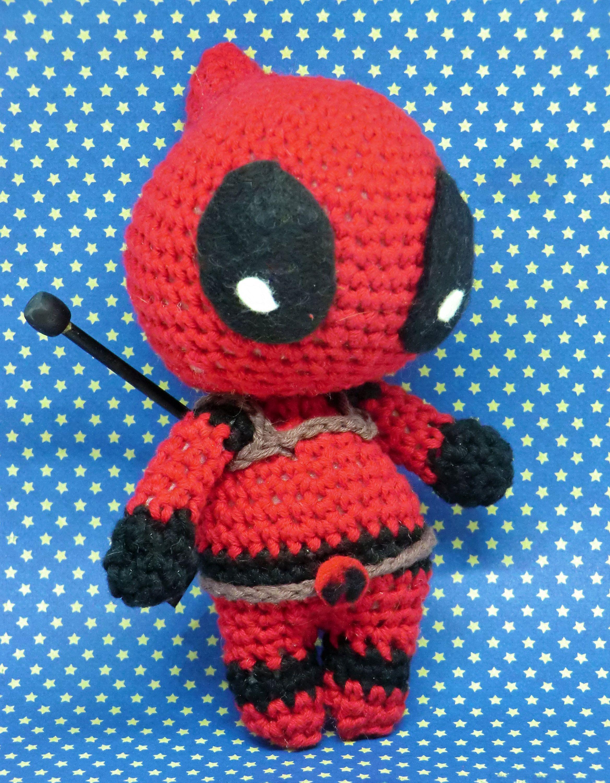 Deadpool Crochet Pattern Free | 3000x2338