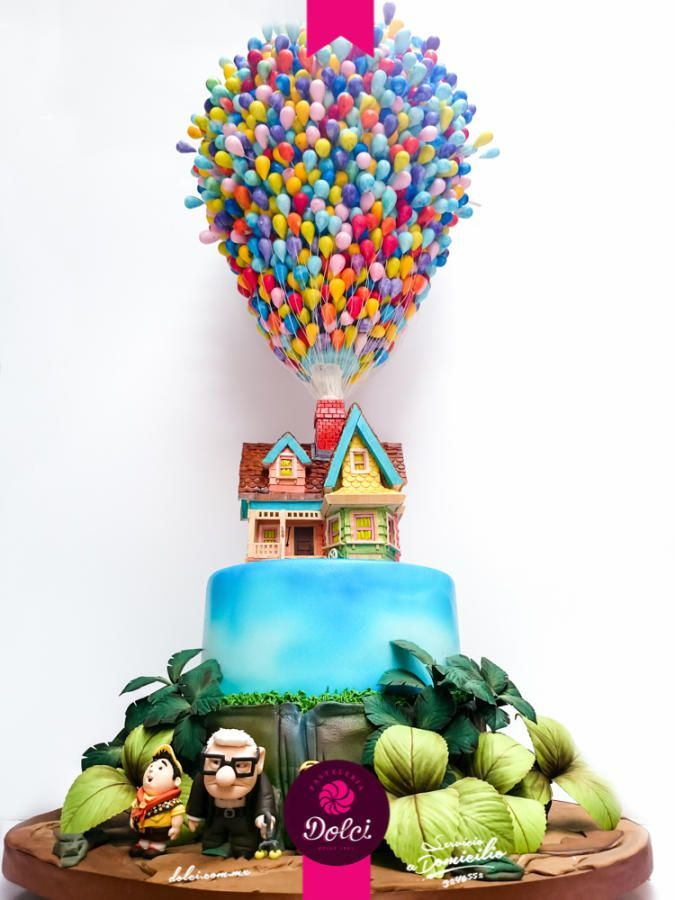 Up Cake By Kalid M Torres Cake Decorating Ideas Movie Cakes