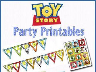 Cumpleaños Toy Story | Descargables Gratis para Imprimir: Paper toys, diseño, Origami, tarjetas de Cumpleaños, Maquetas, Manualidades, decoraciones fiestas y bodas, dibujos para colorear, tutoriales. Printable Freebies, paper and crafts, diy