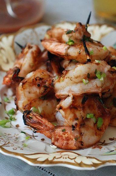 Char-Grilled Chili Shrimp