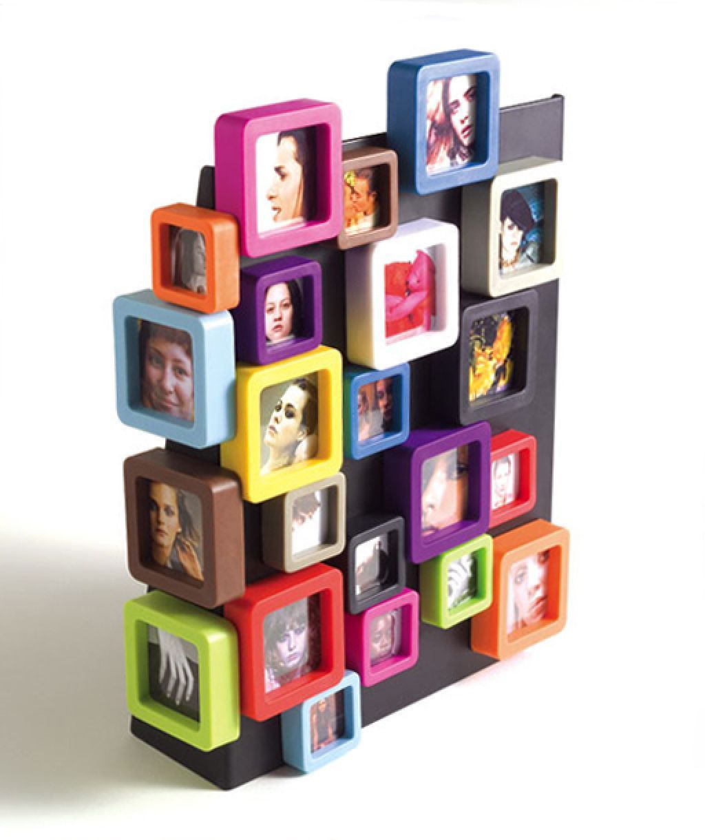Small Magnetic Frames Modern Collage Design With Wallet Size Picture