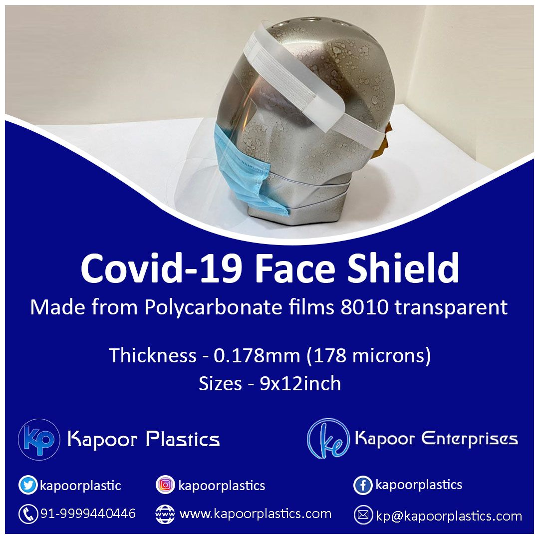 Pin On Covid 19 Face Shield Mask Manufacturer India