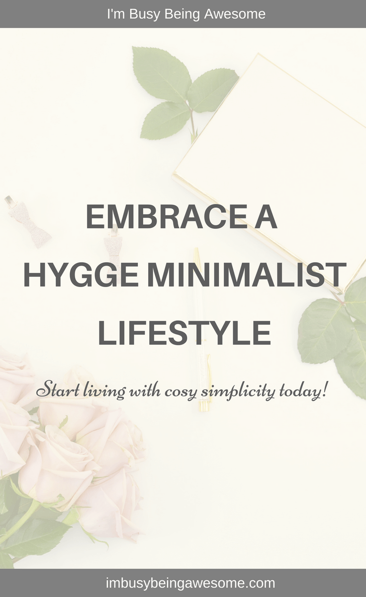 Hygge Minimalist Living: Yes, It's Possible! Hygge living, hygge book, hygge decor, hygge lightin