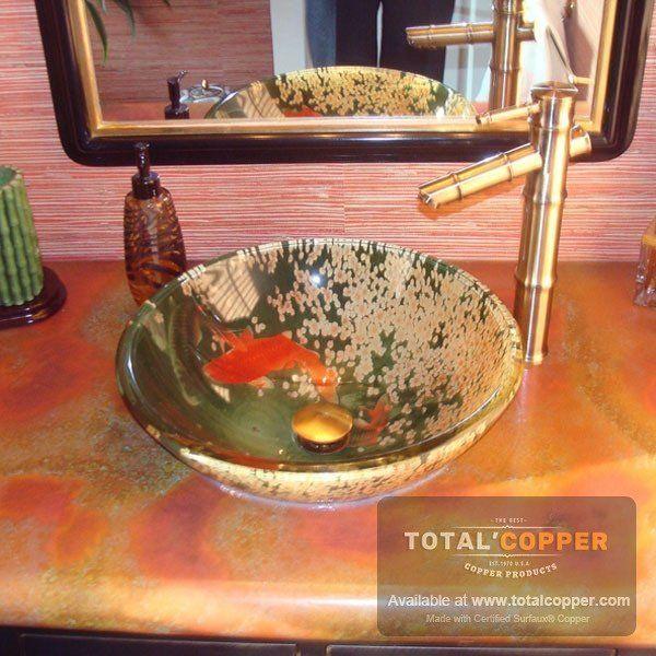 Rojo Patina Copper Sheet  Heavy 24 Gauge  Total Coppercopper