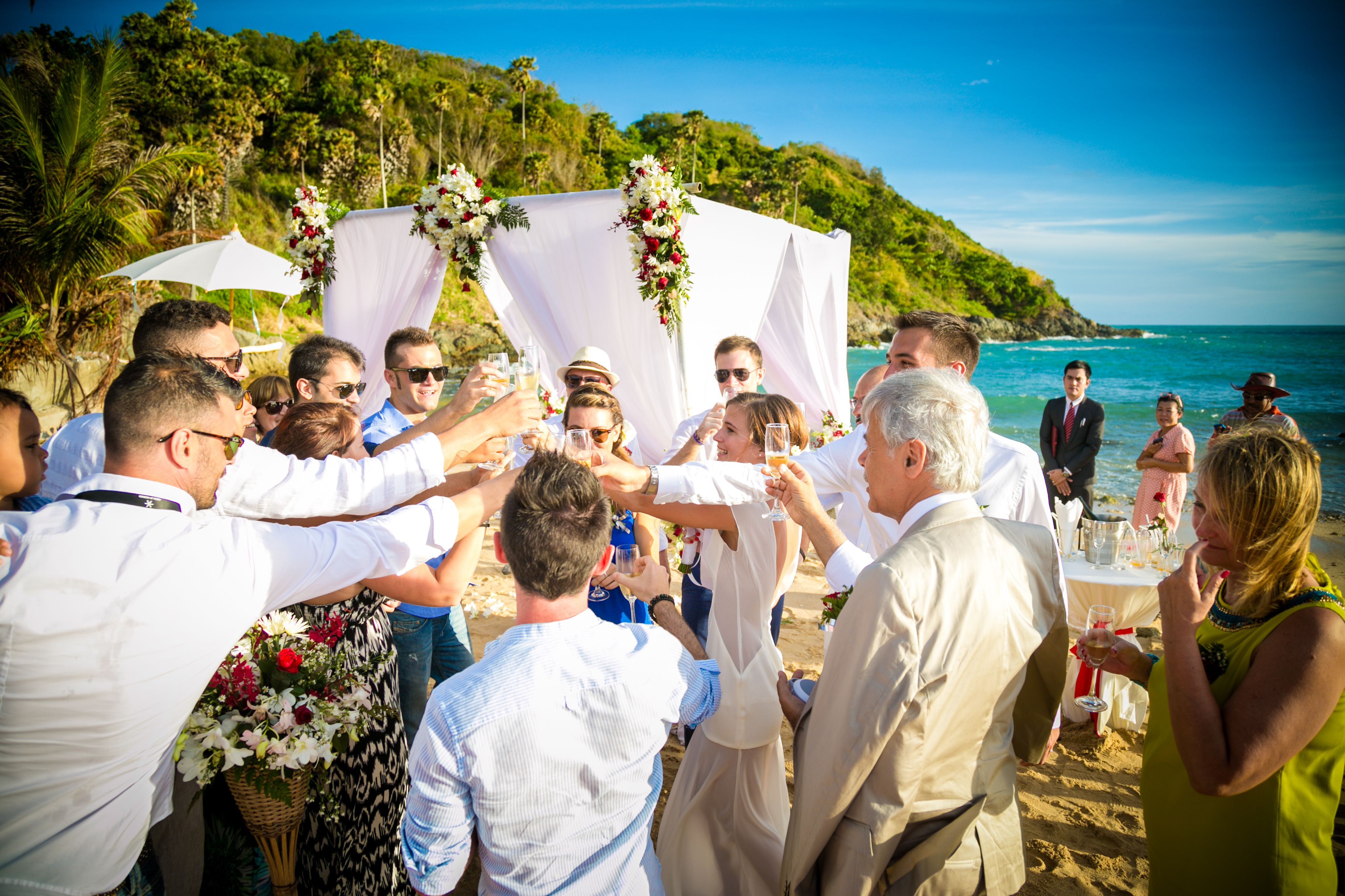 Relaxed beach wedding  Beach Wedding  by BVR Phuket Resort bvrphuket Boomerang