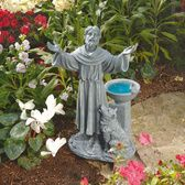 This smaller version of a bird bath looks like it would be good for the butterflies.