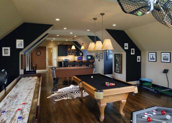 60 Game Room Ideas For Men Cool Home Entertainment Designs Ev Dekorasyonu Evler Dekorasyon