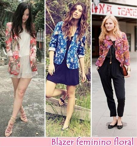 looks com casaco floral - Pesquisa Google