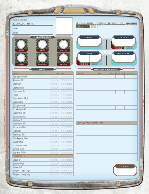 Star Wars Edge Of The Empire Release Edition Character Sheet