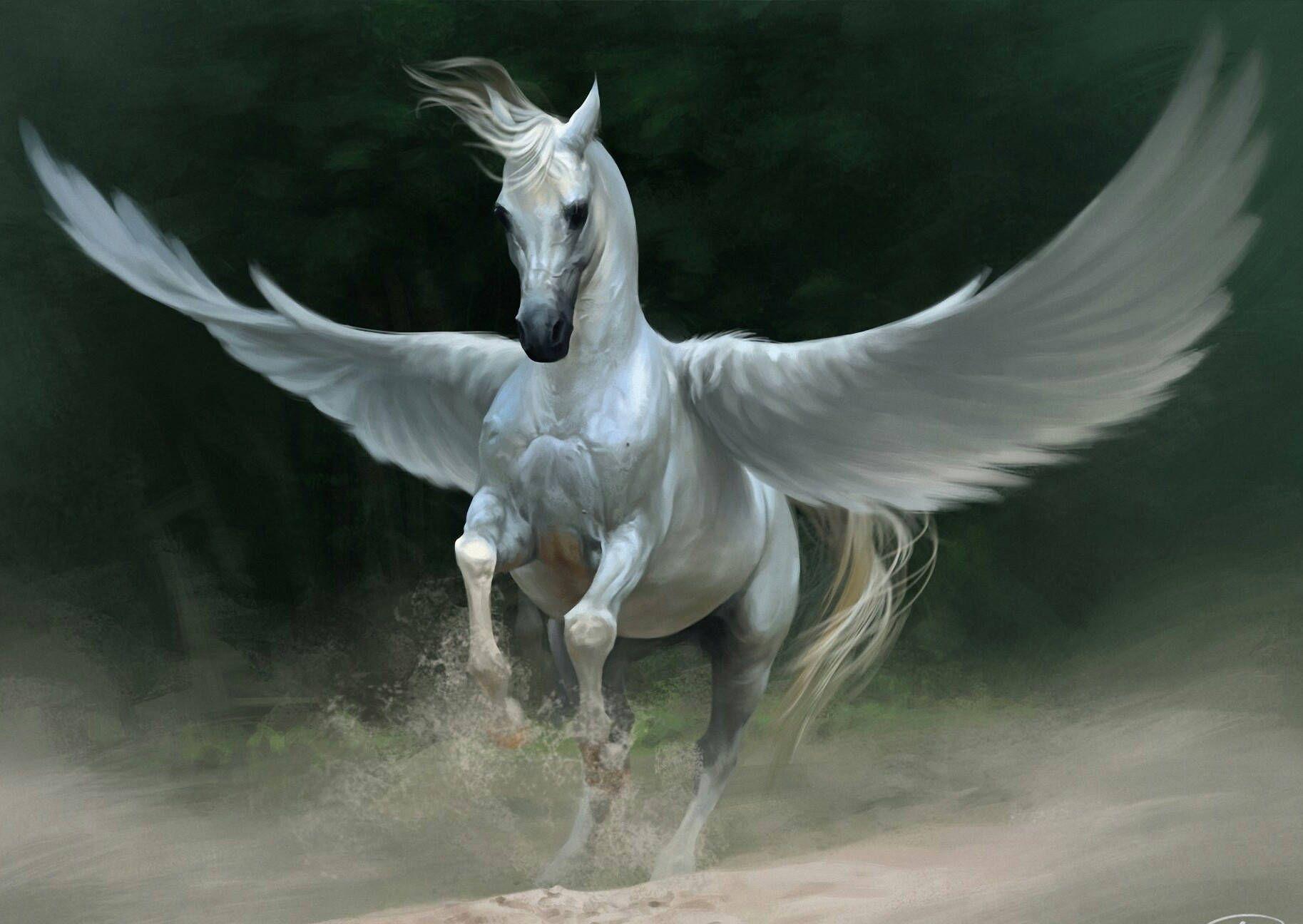36++ Flying horses ideas