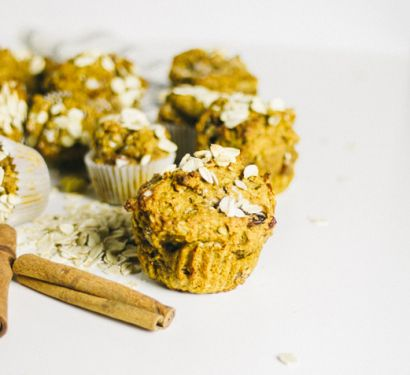 Spiced Sweet Potato Muffins • Boards&Knives