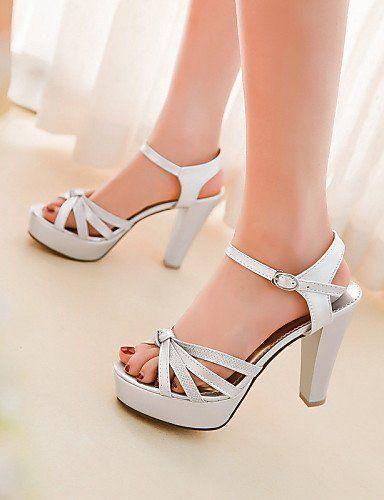 Women Peep Toe Sandals Women's Shoes Chunky Heel Heels/Open Toe Sandals Dress  Black/
