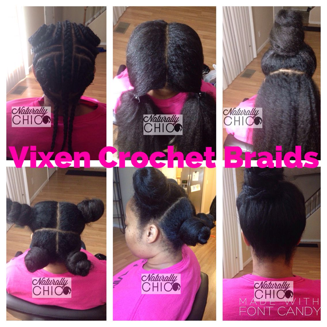 Vixen Crochet Braids With Leave Out Hair Raiser Natural