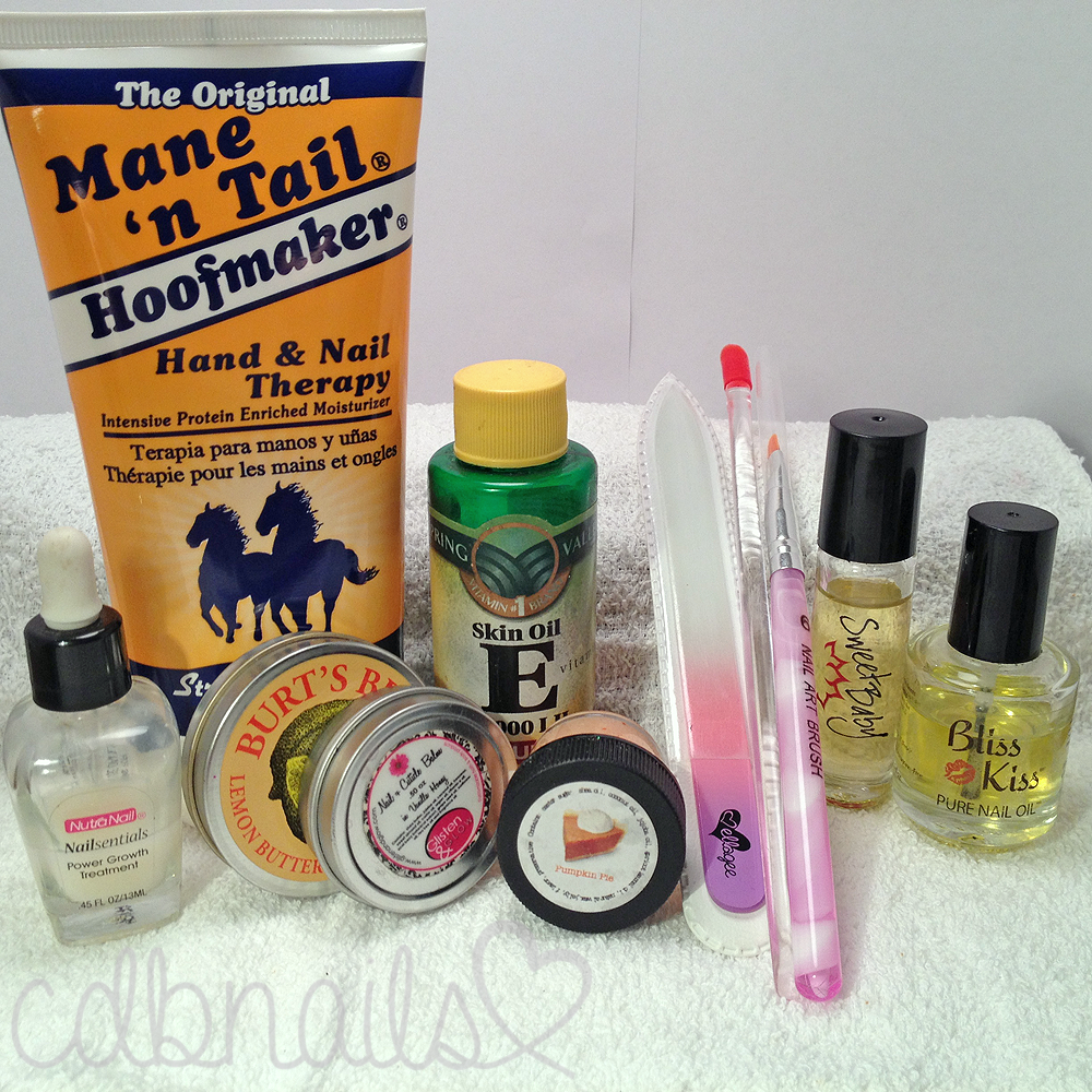 cdbnails 10 step Nail and Hand Care Routine Products Used Mane \'n ...