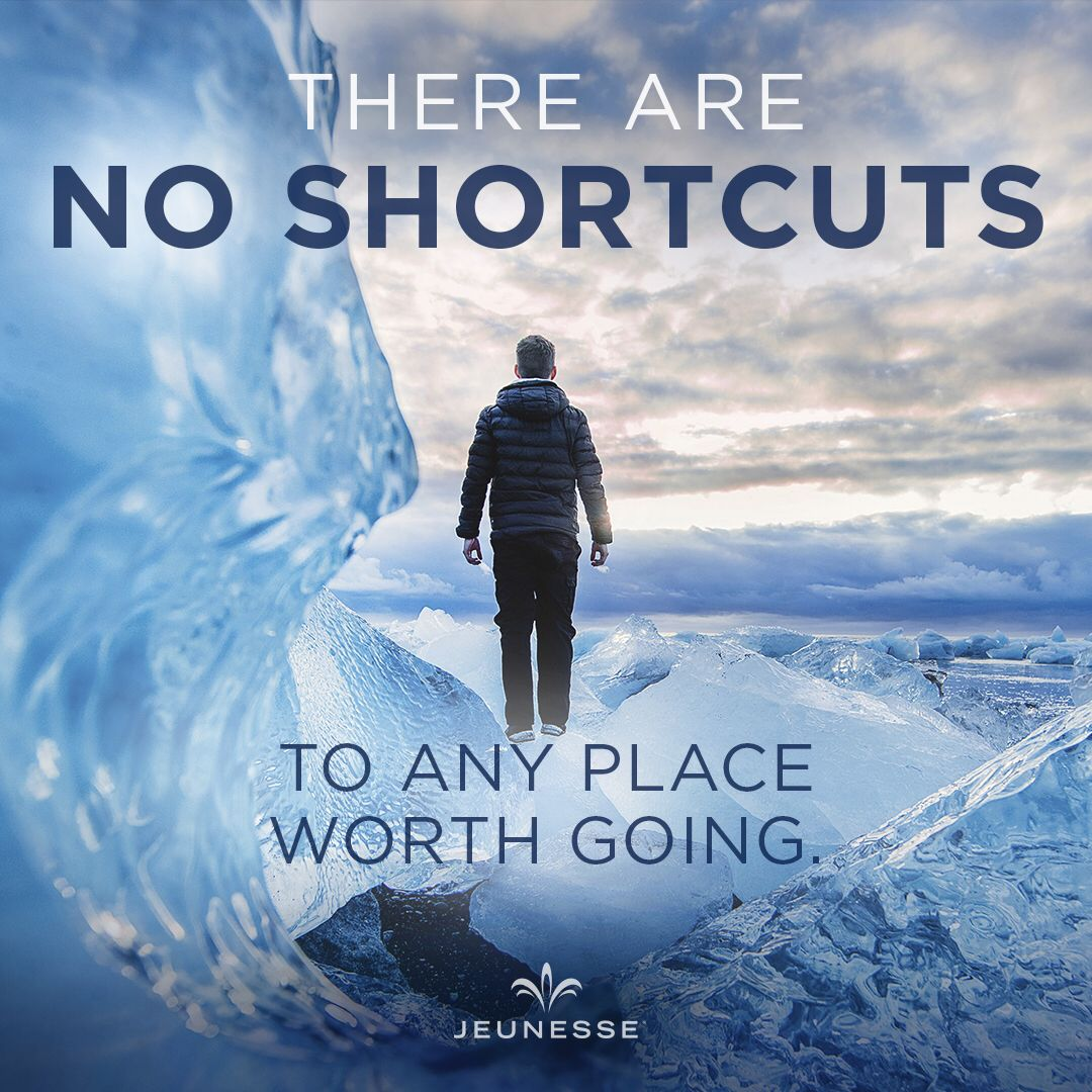 There are no shortcuts to any place worth going.  -
