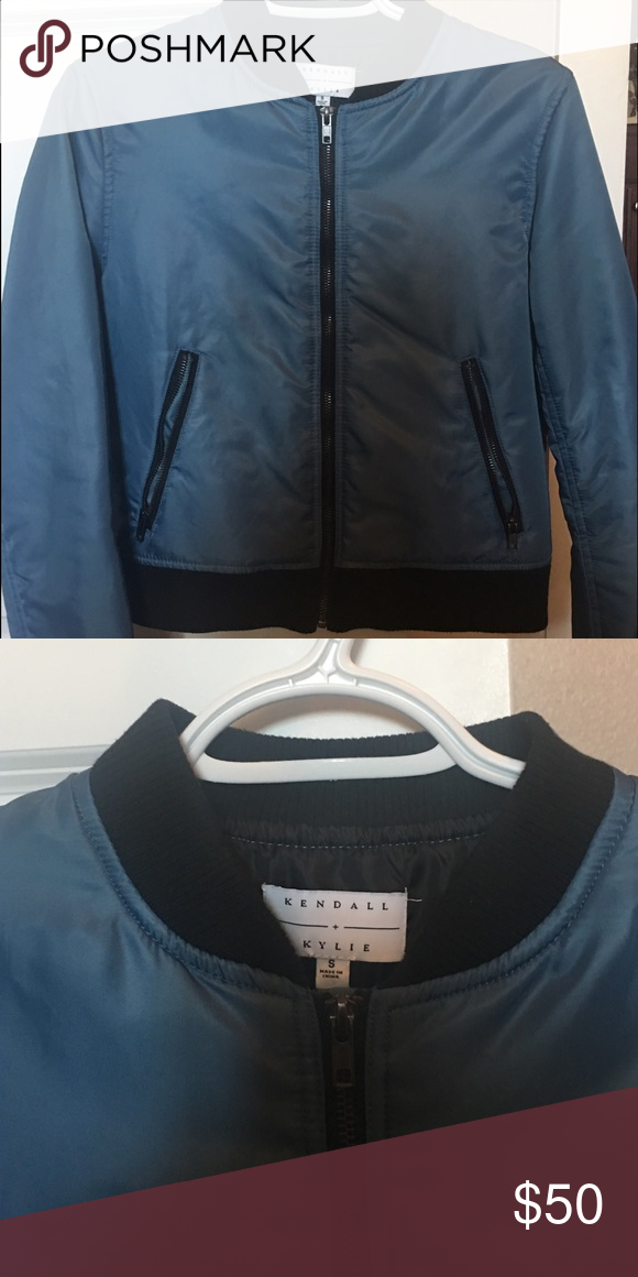 Bomber jacket Kendall and Kylie collection.. worn once, brand new condition Kendall & Kylie Jackets & Coats