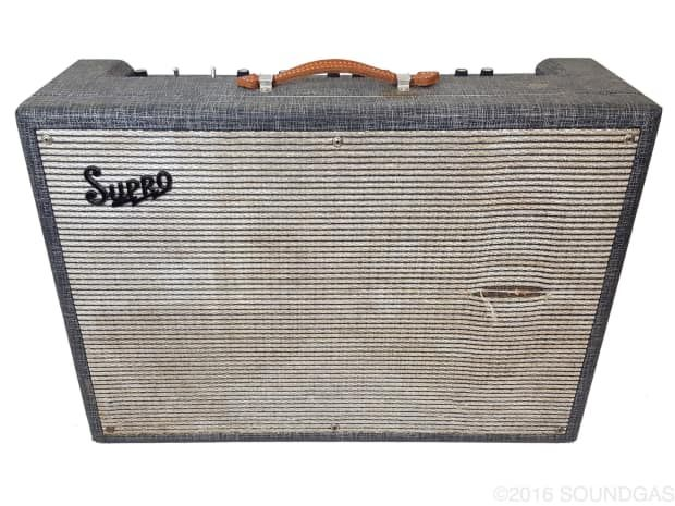 The 35-watt, 2x12 Supro Big Star amp was one of many models