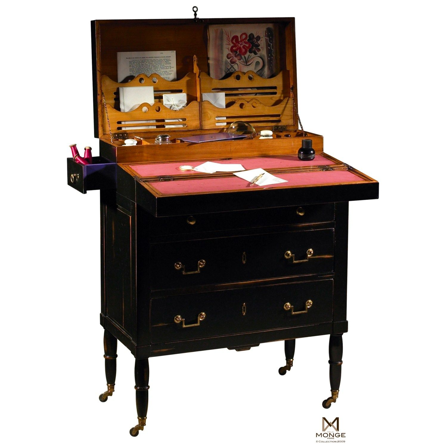 commode secr taire billet doux felix monge maison du meuble vente en ligne de meubles et. Black Bedroom Furniture Sets. Home Design Ideas