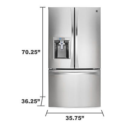 door elite french freezer refrigerator kenmore refrigerators inspirational doors of bottom