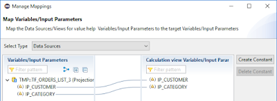 Passing multi-value input parameter from Calculation View to