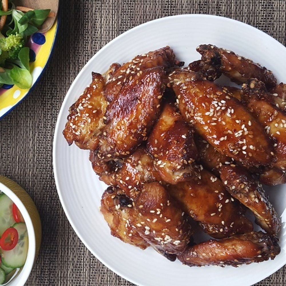 orangesesame chicken wings  recipe in 2019  sesame chicken wings recipe sesame chicken