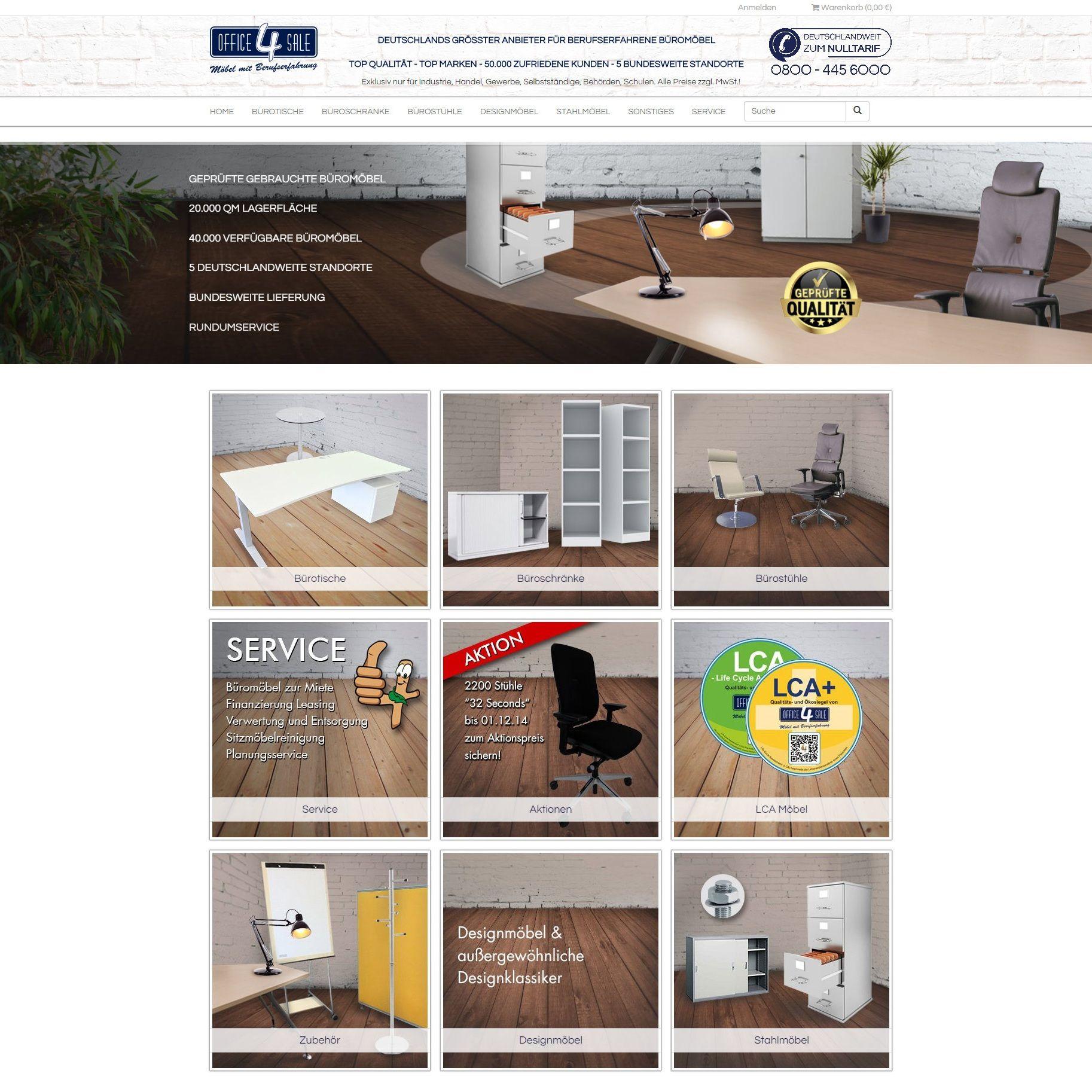 Neuer #Büromöbel #Onlineshop von #office4sale geht am 18.11.2014 an ...