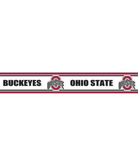Ohio State Buckeyes Peel Stick Wall Border Ohio State Ohio State Buckeyes Wallpaper Border