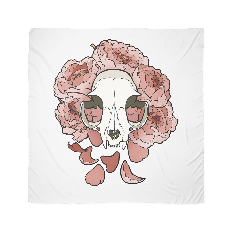 Women Dresses Cat skull, Pink scarves, Pastel goth