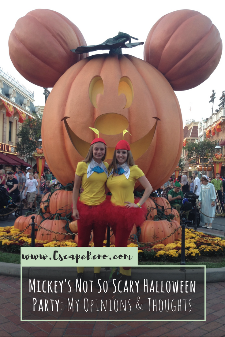 mickey's halloween party: my opinions & thoughts | fun events