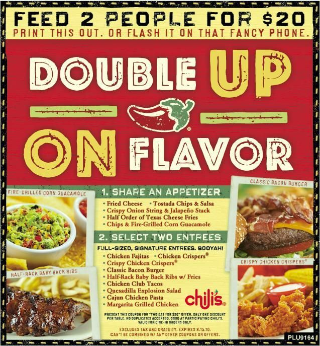 Chilis Coupons Grill Bar Is A Restaurant Chain Founded By Larry Lavine The Has More Than 1400 Casual Dining