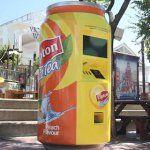 Está com calor? O Tea-mômetro da Lipton lhe refresca!
