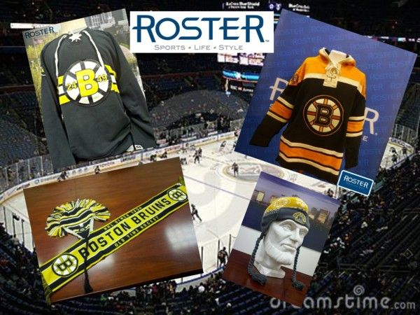 """""""Make sure to return to the hockey season in style! @ROSTERSTORES"""" by rosterstores on Polyvore"""