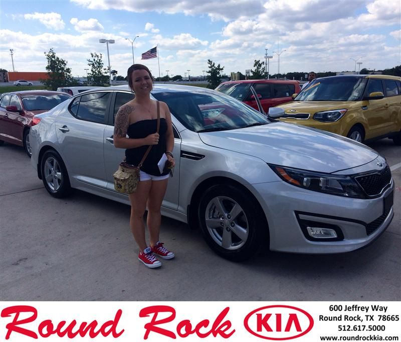RUTH WAS AWESOME AND VERY HELPFUL. EVERYHTING WAS QUICK AND EFFICIANT. SHE HELPED ME PICK THE PERFECT KIA OPTIMA !!!! - AMY BAGGERLY, Saturday, August 02, 2014 http://www.roundrockkia.com/?utm_source=Flickr&utm_medium=DMaxxPhoto&utm_campaign=DeliveryMaxx