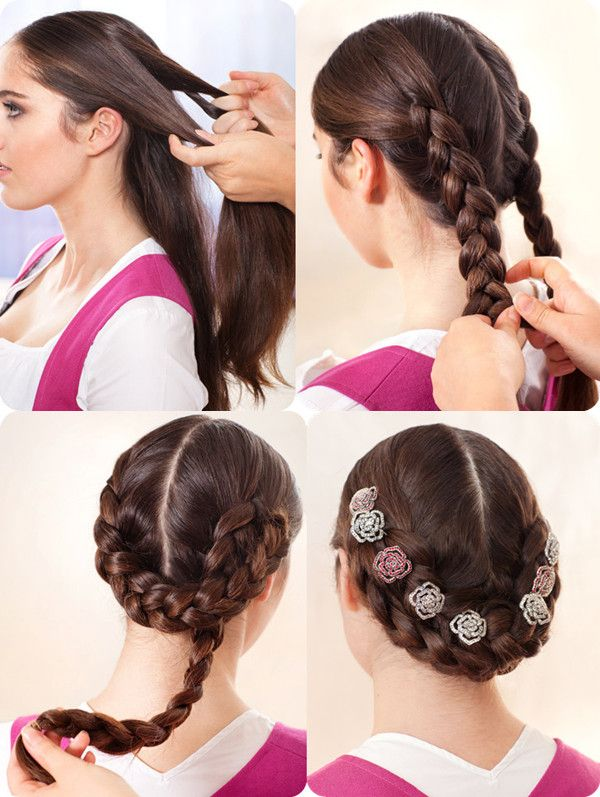 Pin By Kristin Krahmer On Wiesn Haare Pinterest Hair Styles