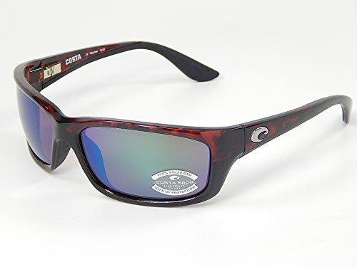 3efca12bc1 Costa Del Mar Jose 580G TortoiseGreen Polarized Lens 62mm Sunglasses     To  view further for this item