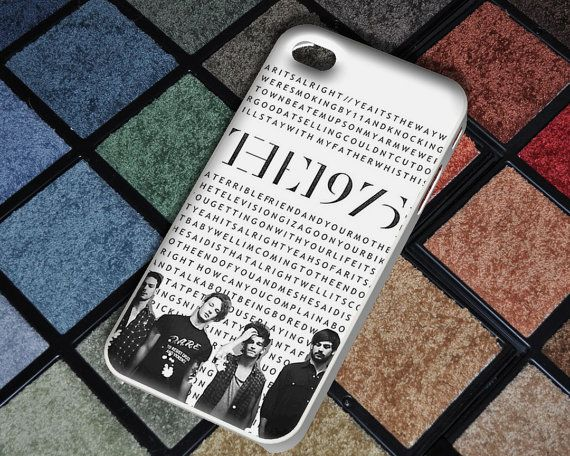 the 1975 settle down lyrics iphone case