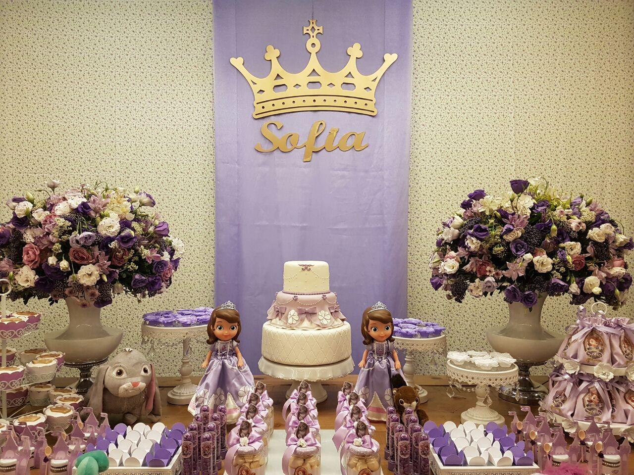 Pin Em Festa Princesa Sofia