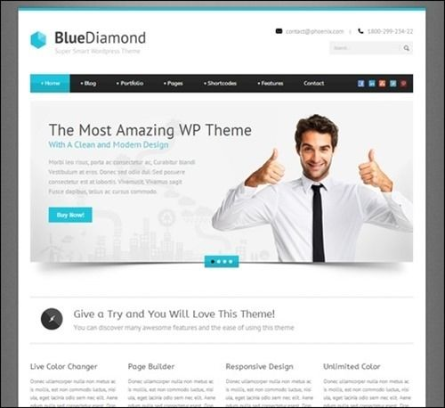 This is the business BlueDiamond. This describes the company, and ...