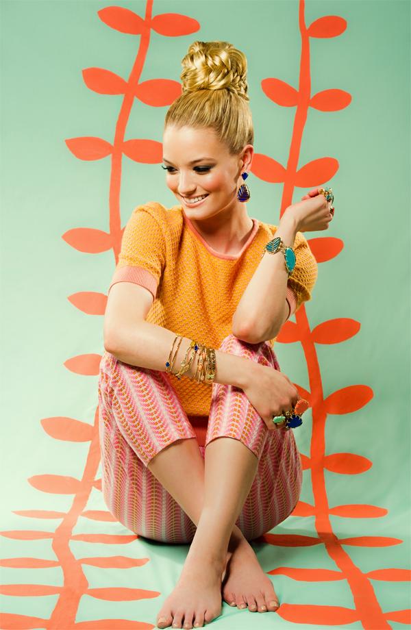 1-Spring-Tropic-Chic-Photoshoot-60s-Sixties-Mod-Colorful-Turquoise-Salmon-Orange-Coral-Cobalt-Mint-Chalcedony-Fashion-Designer-Jewelry-Kendra-Scott