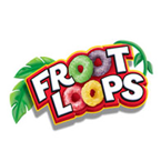 The Froot Loops Logo Features Its Titular Product In Place Of The O S It Is Colorful And Fun Looking So It Is More Likely To Appeal To Kids Logotypes
