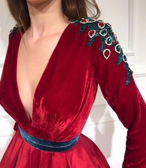 Cornell Red TMD Gown
