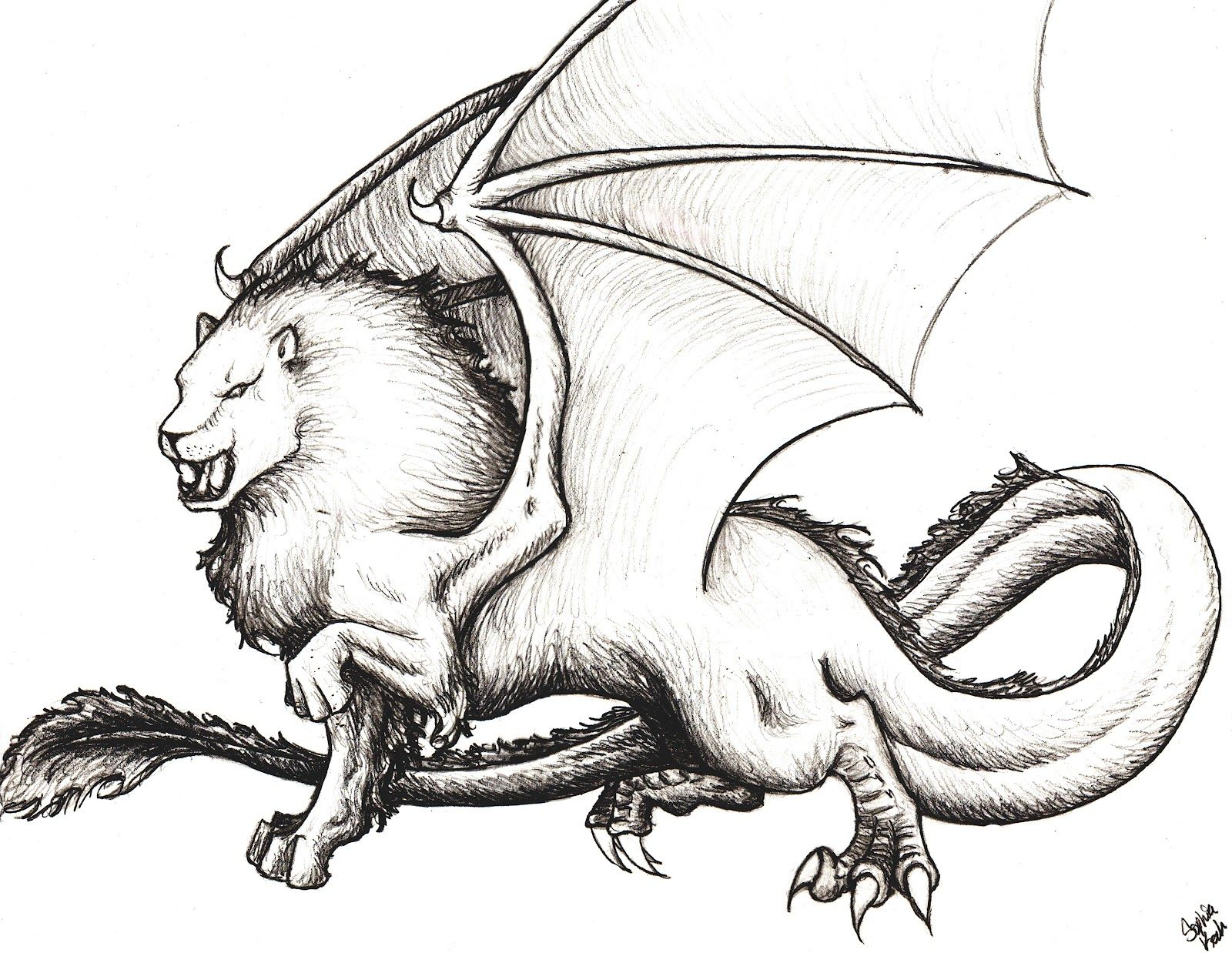 How to breed heraldic dragon - Gamelyon Heraldry A Lion Like Creature With Wings And A Forked Tongue