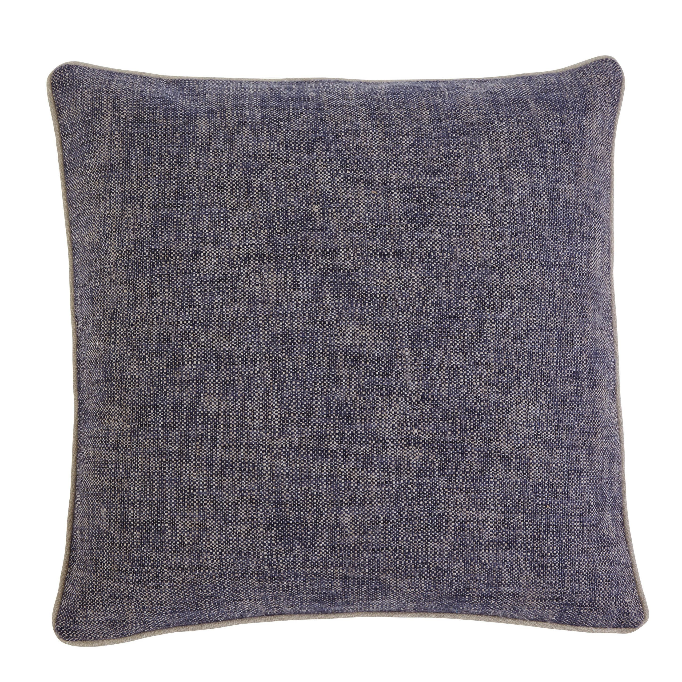 Signature Design by Ashley Textured Navy 20-inch Pillow Cover ...