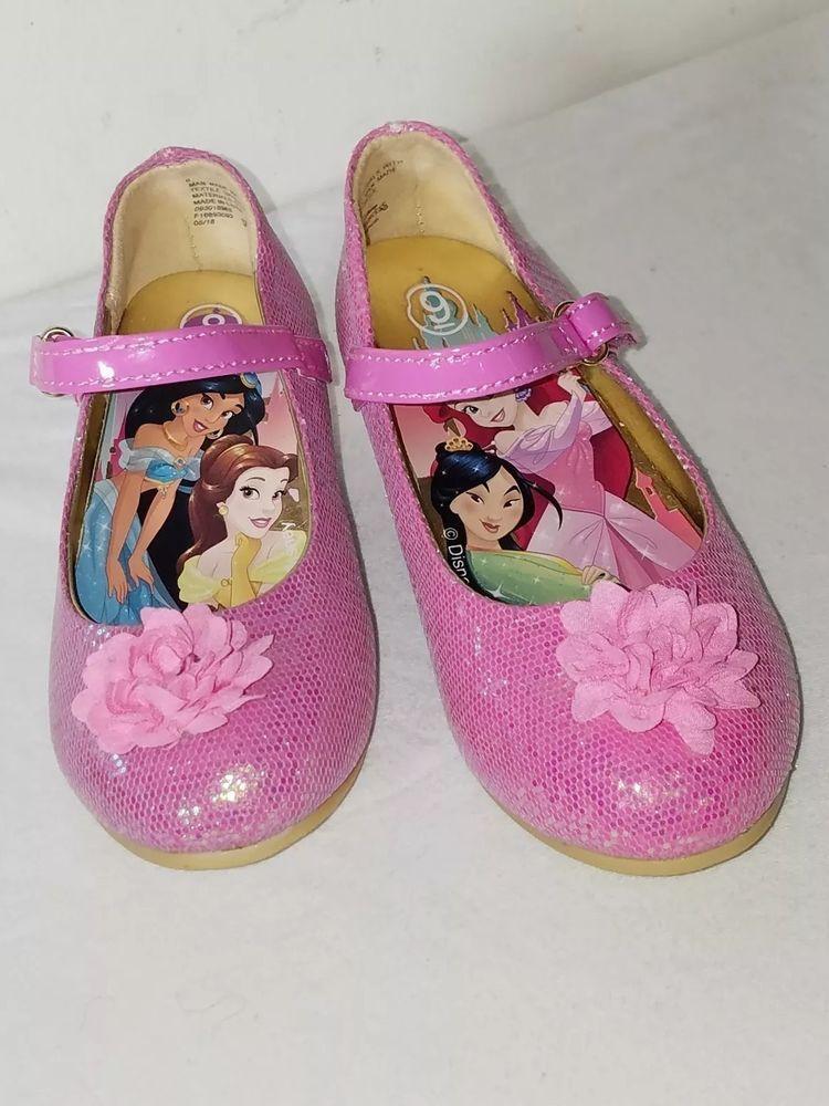 Disney Princess Pink Glitter Play shoes