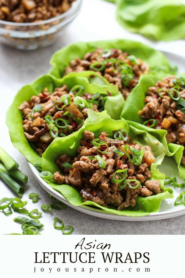 Asian Lettuce Wraps (Easy and Yummy Recipe!) - Joyous Apron