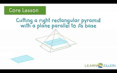 Video Describe 2 Dimensional Cross Sections Of Right Rectangular