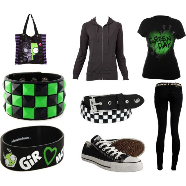 """nerd emo girl outfit"" by sjcountrygirl-sj liked on ... 