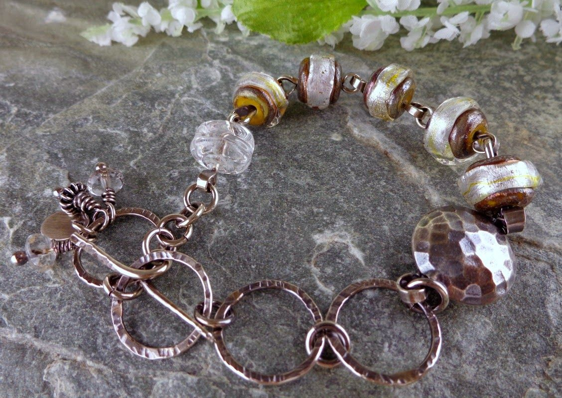 My Addictions...Handcrafted Jewelry by Patti: Baby...it's hot outside!