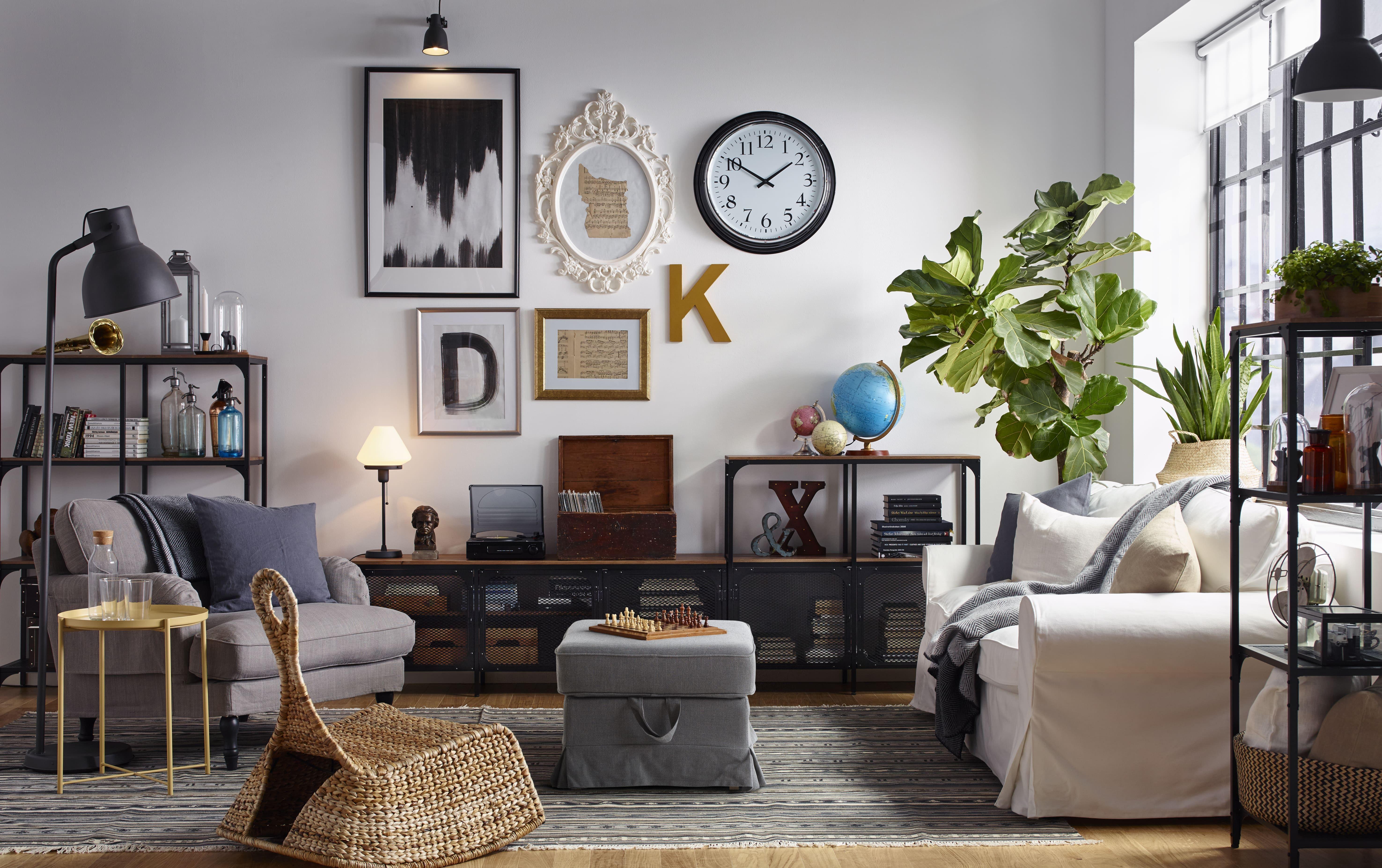 IKEA PS GULLHOLMEN Mecedora, fibras de platanera IKEA