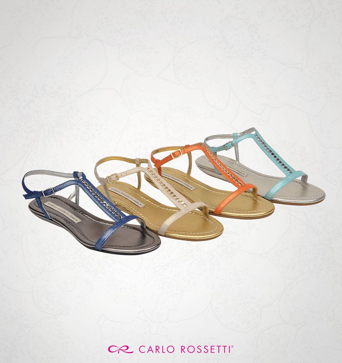 #Sandalias #CarloRossetti #ColoresVerano